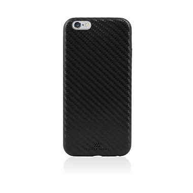 Black Rock Material Cell Phone Case for iPhone 6/6S, Transparent Black (1010MTR02)