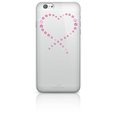 White Diamonds Eternity Cell Phone Case for iPhone 6/6S, Crystal Pink (1310ETY82)