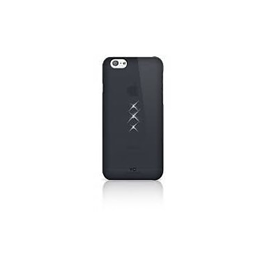 White Diamonds Trinity Cell Phone Case for iPhone 6/6S, Black (1310TRI6)