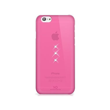 White Diamonds Trinity Cell Phone Case for iPhone 6/6S, Pink (1310TRI41)