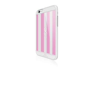 White Diamonds Girly Active Cell Phone Case for iPhone 6/6S, Stripes (1330TRI70)