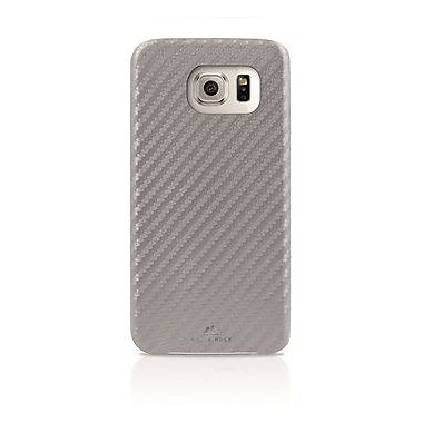 Black Rock Flex Carbon Cell Phone Case for Galaxy S6, Silver (2010ECB08)