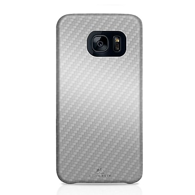 Black Rock Flex Carbon Cell Phone Case for Galaxy S7, Carbon Silver (2040ECB08)