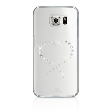 White Diamonds Eternity Cell Phone Case for Galaxy S6, Crystal (2510ETY5)