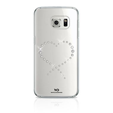 White Diamonds Eternity Cell Phone Case for Galaxy S7, Crystal (2610ETY5)