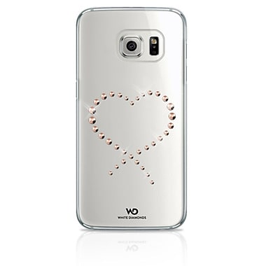 White Diamonds Eternity Cell Phone Case for Galaxy S7, Crystal Rose Gold (2610ETY79)