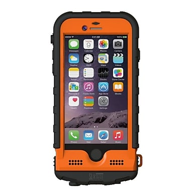 Snow Lizard – Étui de chargement portatif robuste SLXtreme de 4000 mAh pour iPhone 6/6S, orange (SLSLXAPL06-OR)