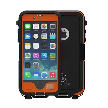 Snow Lizard – Étui robuste SLTough pour téléphone cellulaire iPhone 6/6s, orange (SLTough Rugged6-OR)