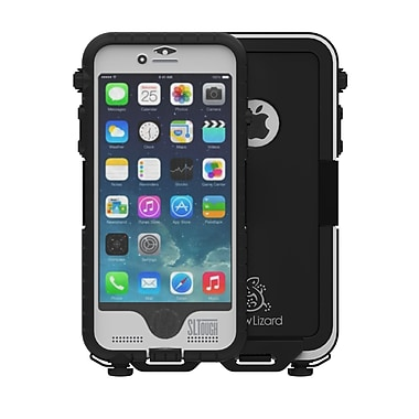 Snow Lizard SLTough Rugged Cell Phone Case for iPhone 6/6S, White (SLTough Rugged6-WH)