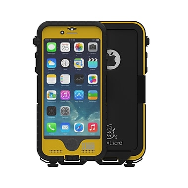 Snow Lizard SLTough Rugged Cell Phone Case for iPhone 6/6S, Yellow (SLTough Rugged6-YE)