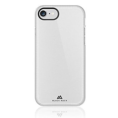 Black Rock Embedded Cell Phone Case for iPhone 6/6S/7, Transparent (1025ESL01)