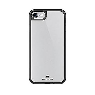 Black Rock Glass Tough & Touch Cell Phone Case for iPhone 6/6S/7, Black (1025GTT02)
