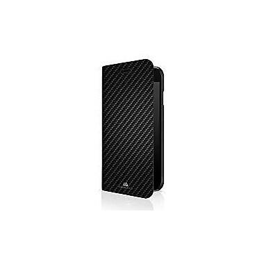 Black Rock Flex Carbon Booklet Cell Phone Case for iPhone 6/6S/7, Black (1027ECB02)