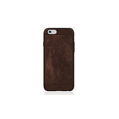 Black Rock Material Cell Phone Case for iPhone 6/6S, Suede Brown (1010MSU06)