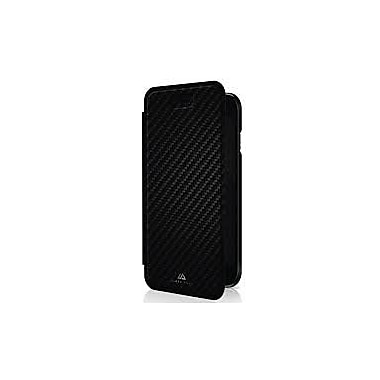 Black Rock Flex Carbon Booklet Cell Phone Case for iPhone 6/6S, Black (1012ECB02)
