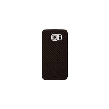 Black Rock Flex Carbon Cell Phone Case for Galaxy S6 Edge, Brown (2020ECB06)