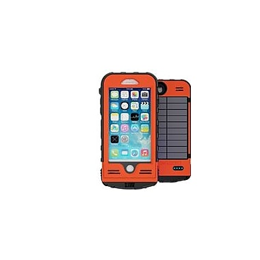 Snow Lizard SLXtreme 4000 mAh Rugged Charging Case for iPhone 7, Orange (SLSLXAPL07-OR)