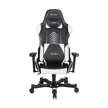 Crank Series Professional Grade Gaming & Computer Chair in Black & White (CKPP55BW)