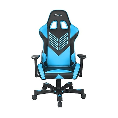Crank Series Professional Grade Gaming & Computer Chair in Black & Blue