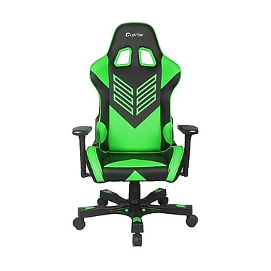 Crank Series Professional Grade Gaming & Computer Chair in Black & Green (CKOT55BG)