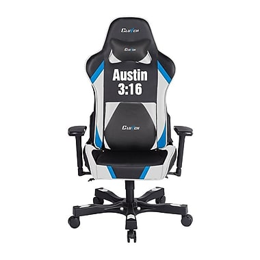 Crank Series Professional Grade Gaming & Computer Chair in Black & Stone Cold