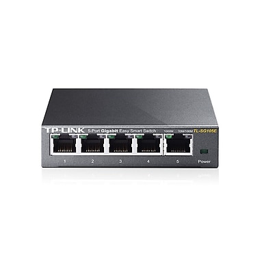 TP-Link TL-SG105E 5-Port Gigabit Easy Smart Switch