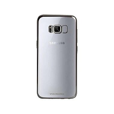 Viva Madrid Metalico Flex Cell Phone Case for Galaxy S8, Gun Metal (VIVA-GS8BC-MFXGMT)