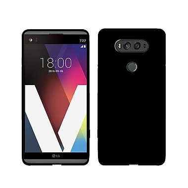 LBT Ultra Slim Gel Skin Cell Phone Case for LG V20, Black (V20BK1)