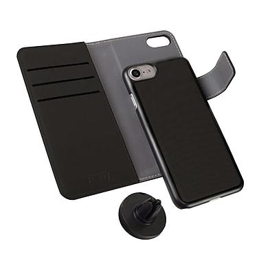LBT - Étui Switch Wallet pour cellulaire iPhone 7, noir charbon (IP7FSWBK)