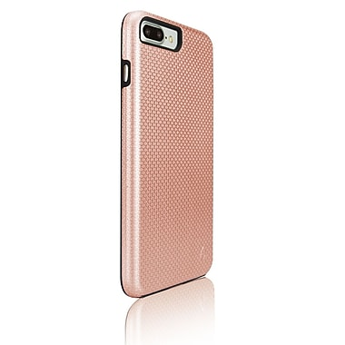 LBT dualKase Cell Phone Case for iPhone 7 Plus, Rose Gold (IP7PDKRG)