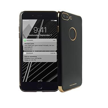 Viva Madrid - Étui Caviar pour cellulaire iPhone 7 Plus, noir/or (VIVA-IP7PBC-CAVGLD)