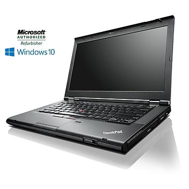 Lenovo - Portatif ThinkPad T430 14 po remis à neuf, 2,9 GHz Intel Core i7-3520M, DD 500 Go, 8 Go RAM, Windows 10 Pro