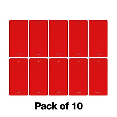 PNY 2250 POWER PACK 10 PCK RED