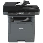 Brother MFC-L6700DW Laser Multifunction Printer, Monochrome, Duplex
