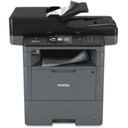 Brother MFC-L6800DW Laser Multifunction Printer, Monochrome, Duplex