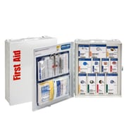 First Aid Only® 25 Person, Medium Metal SmartCompliance Cabinet, ANSI A (90578)