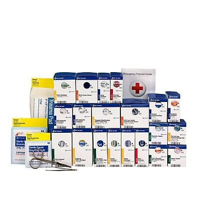 First Aid Only™ ANSI A+ SmartCompliance Large First Aid Kit Refill for up to 50 People (90613)