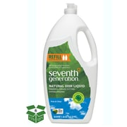 Seventh Generation  Natural Liquid Dish Soap, Free & Clear, Unscented, 50 oz. Jumbo Bottle, 6/Carton (22724) (SEV22724CT)