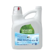 Seventh Generation™ Natural Liquid Laundry Detergent, Free & Clear, Unscented, 99 Loads, 150 oz. Bottle (22803)