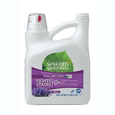 Seventh Generation™ Natural Liquid Laundry Detergent, Blue Eucalyptus & Lavender, 99 Loads, 150 oz. Bottle (22794)