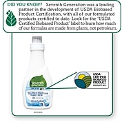 Seventh Generation Free & Clear Natural Liquid Fabric Softener, 32 oz. Unscented (22833)