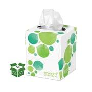 Seventh Generation™ 100% Recycled Facial Tissue, 2-Ply, 85 Sheets/Box, 36 Boxes/Carton (13719)