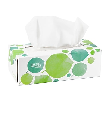 Seventh Generation™ 100% Recycled Facial Tissue, 2-Ply, 175 Sheets/Box (13712)