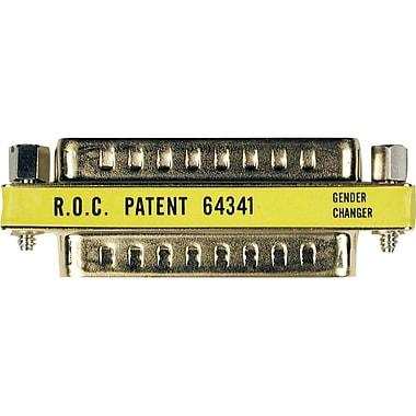 Tripp Lite Compact / Slimline Gold DB25 Gender Changer Connector M/M