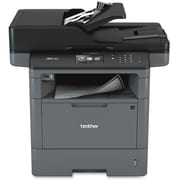 Brother MFC-L5900DW Laser Multifunction Printer, Monochrome, Duplex
