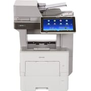 Ricoh MP 501SPF Laser Multifunction Printer, Monochrome, Plain Paper Print, Desktop