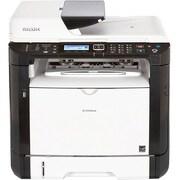 Ricoh SP 377SFNwX Laser Multifunction Printer, Monochrome, Plain Paper Print, Desktop