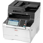 Oki MC500 MC573dn LED Multifunction Printer, Color, Plain Paper Print, Desktop