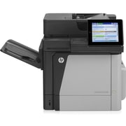 HP LaserJet M680dnm Laser Multifunction Printer, Color, Plain Paper Print, Desktop