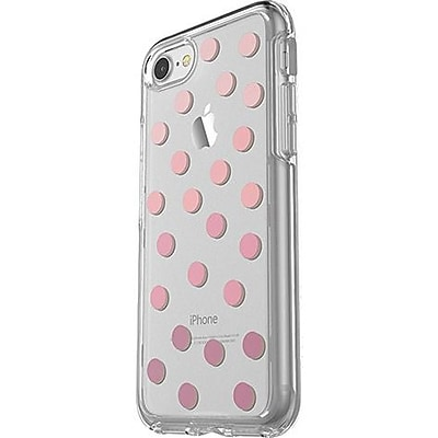 OtterBox iPhone 7 Symmetry Series Clear Graphics Case Clearly Dazzling (77-55299)